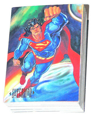 DC Masterpieces by Skybox in 1994. Complete base set of 90 cards