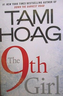The 9th Girl by Tami Hoag new hardcover Book Club edition