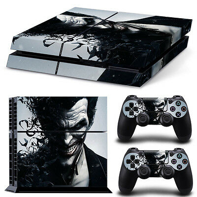 Gift Skin Sticker Cover Decal Set for PS4 Playstation 4 Console Controller