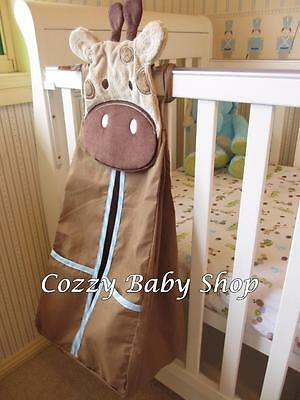 Nappy Stacker High Quality Nursery Baby Diaper Stacker Storage Brown Giraffe