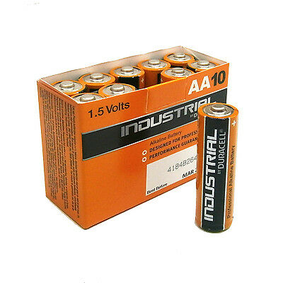 Duracell Industrial Batteria Stilo Aa Lr6 Mn1500 Conf.industriale 10 Pile 1,5V