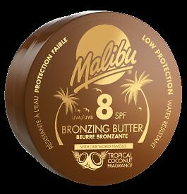 Malibu Bronzing Body Butter SPF 8 With Tropical Coconut Fragrance 250ml
