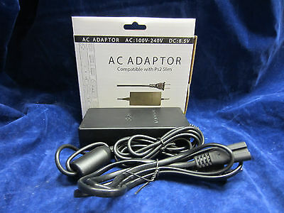Old Skool AC Power Charger Adapter for Slim Playstation 2 PS2 Slim