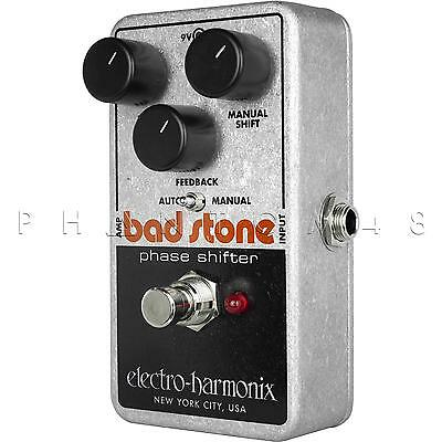 Electro-Harmonix Bad Stone Vintage Phaser Phase Shifter Guitar Effects Pedal NEW