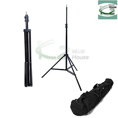 7Ft Photography Light Stand Tripod Adjustable for Photo Studio Video Lighting