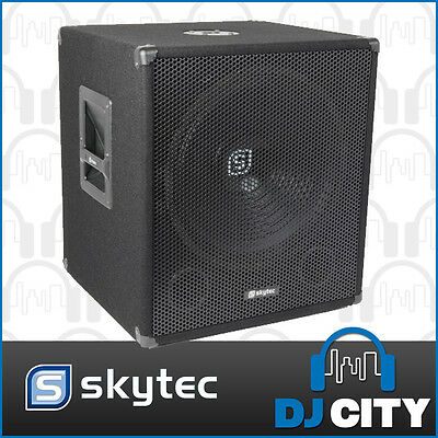 "18"" subwoofer capable of 1000 watts peak - giving awesome bass power for your..."