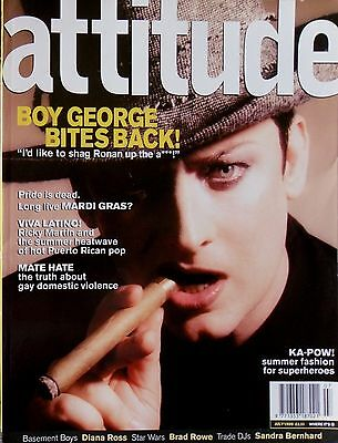 Boy George Exclusive * Attitude * Jul '99 *  Htf! * Gay Interest * Diana Ross