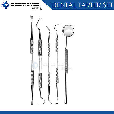 Dental Rubber Dam Clamp Forceps Punch Frame Set 22 Pieces Dn-533