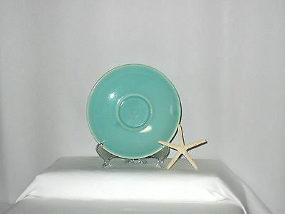 "Vintage Lu-Ray - LuRay -  Pastel Green 6"" Saucer - Final $"