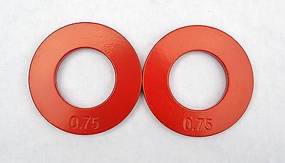 "Set of Two 1.0 Lb Plates Quest 2/"" Olympic Fractional Plates"