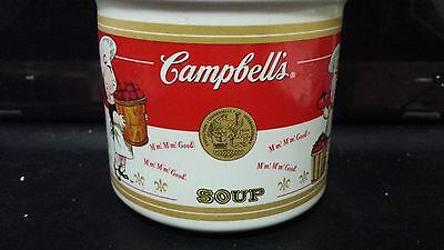 Brand New Set of 4 Campbell Soup Mug Cups 2001 Collectible Mugs