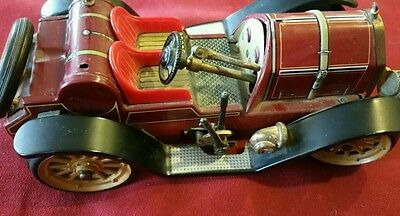Vintage SCHUCO MERCER 1913 TYPE 35J 1225 TOY CAR Wind-Up No Key