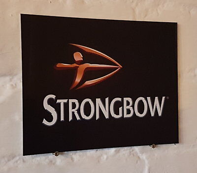 Strongbow cider Retro metal Aluminium Sign vintage bar pub man cave beer signs