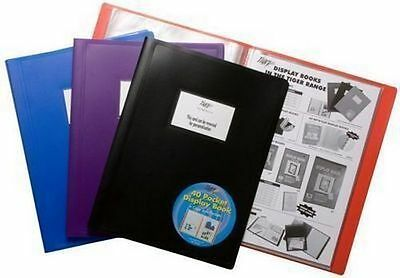 Range of Black Flexicover Display Presentation Books Catalogue Project Folder