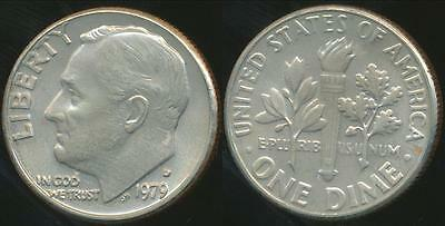 United States, 1979-D Dime, Roosevelt - Choice Uncirculated
