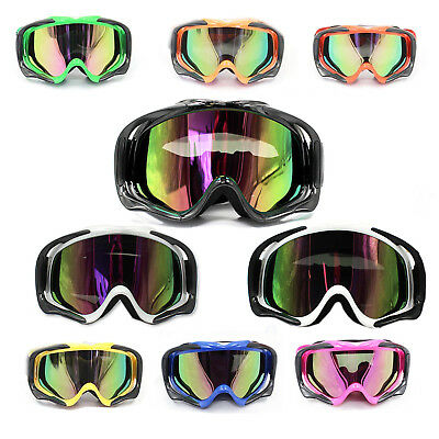 Motocross Motorbike MX Dirt Pit Bike SKI RACING Tinted Goggles anti-fog UV