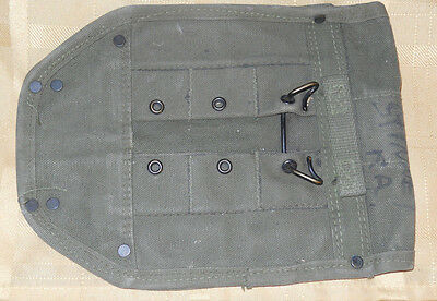Korean US Army Carrier Entrenching Tool or Shovel Canvas Carrier Cover  1952