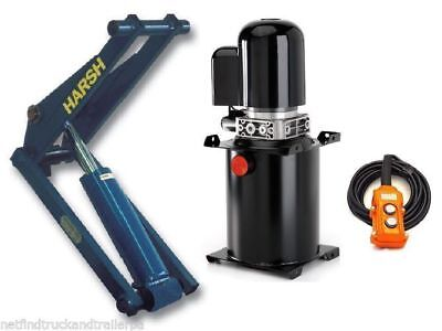 Hydraulic kit underbody hoist tipping kit incl hoses, oil & hinges 12V (A5)