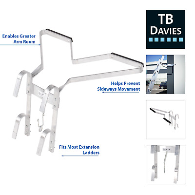 TB Davies Universal Ladder Stand-Off V-shaped Downpipe Accessory Kit, Easy 2 Fit