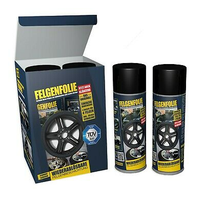 Mibenco liquid film glossy black (consisting of 4 tins 400ml each tin) ...also f