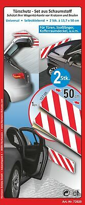 Door protection-set consisting of foam  selfsticking set consisting of 2 pieces