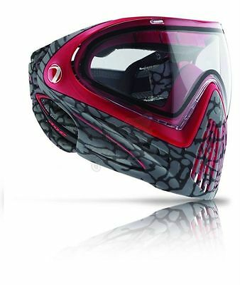 *NEW* DYE i4 Pro Paintball Mask 2015 Style - Skinned Red