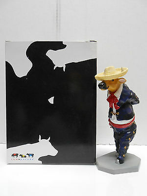 2004 Cow Parade #7709: Toro Folklorico, with Tag, Retired! New in Box