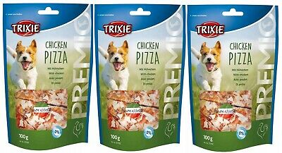 TRIXIE PREMIO Chicken Pizza Dog Treats 3 x100g - Posted Today if Paid Before 1pm