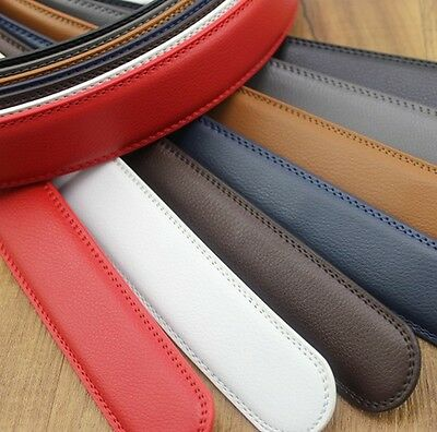 New Fashion Leather Casual Luxury Waist Strap Belts (Without Automatic Buckle)
