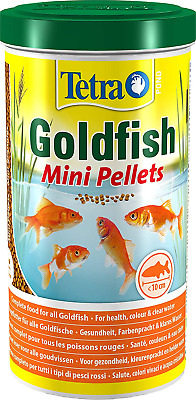 2x Tetra Pond Goldfish Mini Pellet 1000ml/350g - Posted Today if Paid Before 1pm