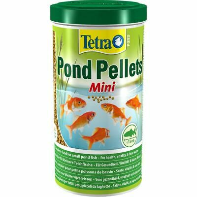 Tetra Pond Fish Mini Pellets 1000ml / 260g - Posted Today if Paid Before 1pm
