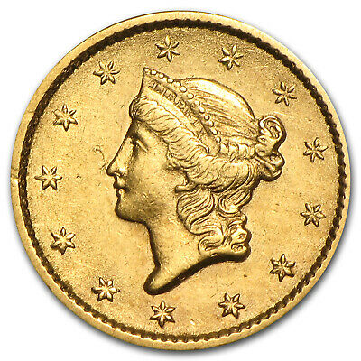$1 Liberty Head Gold Type 1 XF (Random Year) - SKU #4027