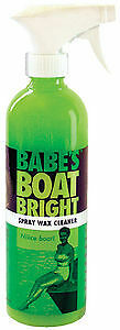 Babe's Boat Care, Babe's Boat Bright Spray Wax Cleaner 16oz.  614-BB7016