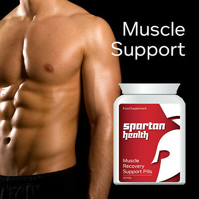 Spartan Health Muscle Recovery Support Pills Muscle Support Stops Pain