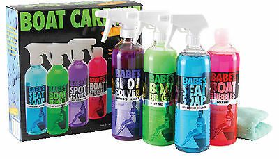 Babe's Boat Care Kit - Wash, Clean, Protect  614-BB7500