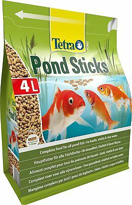 Tetra Pond Fish Stick Floating goldfish koi garden complete food 450g 4L bag
