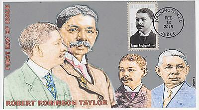 Jvc Cachets - 2015 Robert Robinson Taylor Black Heritage First Day Covers Fdc #1
