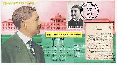 Jvc Cachets - 2015 Robert Robinson Taylor Black Heritage First Day Covers Fdc #3
