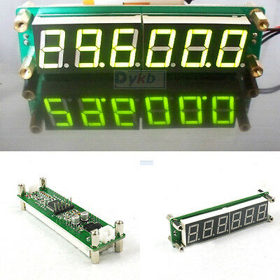 0.1 to 65 MHz RF 6 Digit Led Signal Frequency Counter Cymometer Tester meter yel