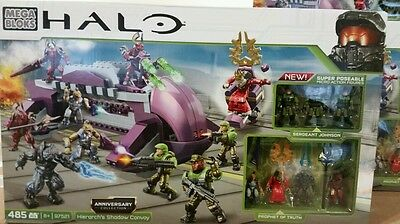 Mega Bloks HALO Hierarch's Shadow Convoy Anniversary Collections 97521