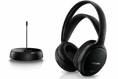 Philips SHC5200 FM Wireless Headphones Rechargeable Battery for TV/Radio/MP3/DVD