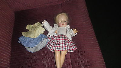 Ideal 14 inch vintage doll