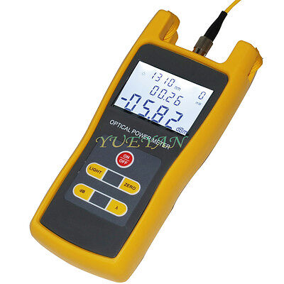 Handheld Optical Power Meter JW3208 Laser Fiber Optic Tool Tester -70 TO +6DBM