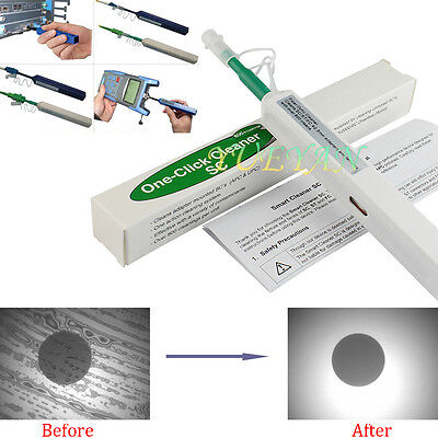 One-Click Fiber Optic Connector Cleaner 2.5mm for SC,ST,FC and E2000 connectors