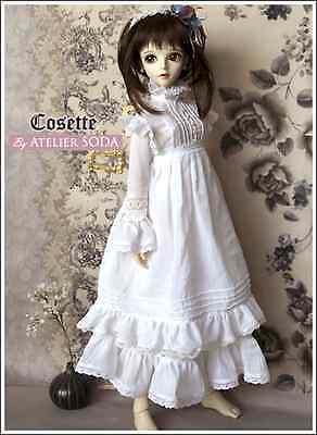 """""""Cosette"""" Outfit Clothes for 1/4 GIRL Super Dollfie BJD Volks MSD SDC Freesize"""
