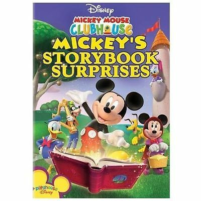 Mickey Mouse Clubhouse - Mickey's Storybook Surprises (DVD, 2008) DISNEY MOVIE