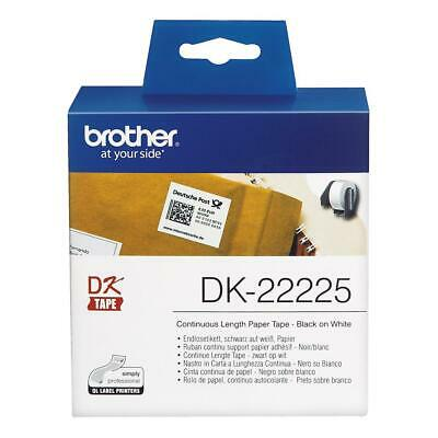 Brother DK-22225 (38mm x 30.48m) Continuous Paper Labelling Tape
