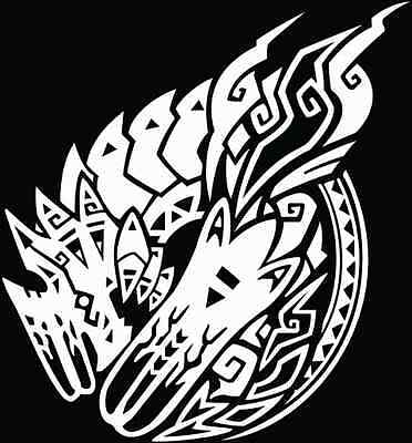 Monster Hunter Brachydios decal sticker