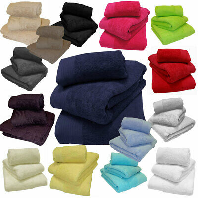 Luxury 600gsm Thick Super Soft & Absorbent 100% Egyptian Combed Cotton Towels