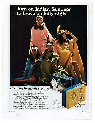 """PRETTY WOMEN AD, Indian, Repro 1960's Advertisement Art For Framing, 8.5"""" x 6.5"""""""